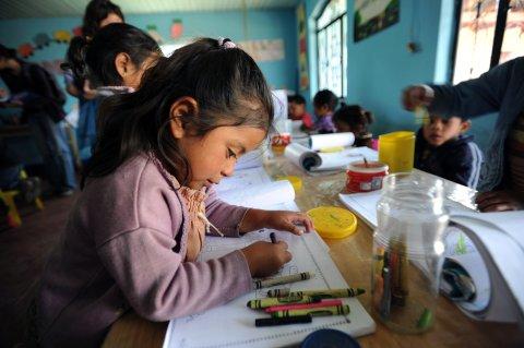 Vorschule im guatemalischen Solola