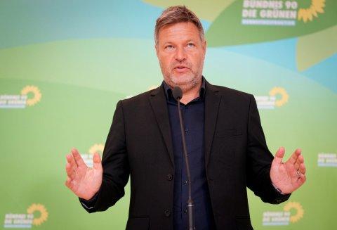 Robert Habeck, Bundesvorsitzender von Bündnis 90/Die Grünen.