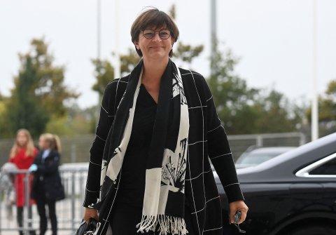 Die SPD-Bundesvorsitzende Saskia Esken