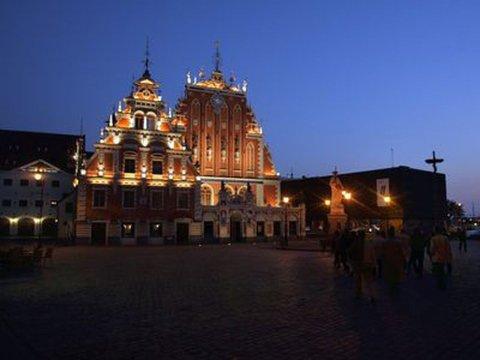 Die Altstadt von Riga. Foto:Matti Björkman/Lehtikuva/dp