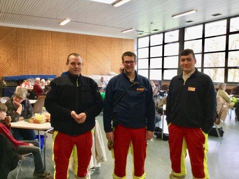 Ehrenamtliche Rettungshelfer vom ASB Schönkirchen